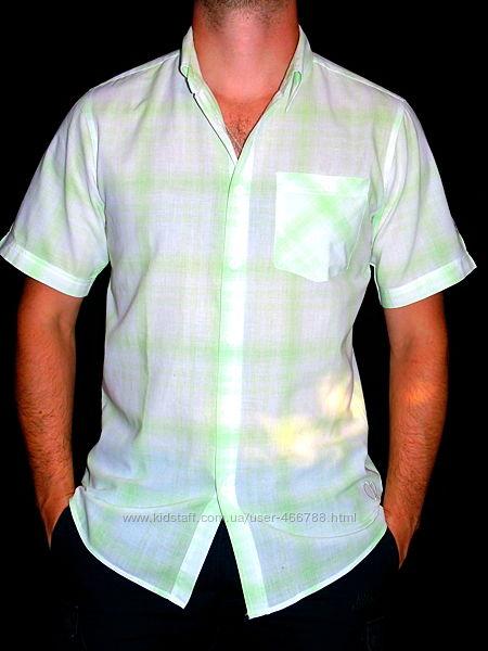 Шикарная брендовая рубашка - M - S
