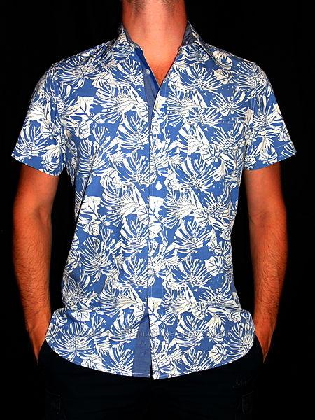 Шикарная рубашка в принт - M - S