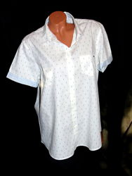 Шикарная рубашка в принт якорь - XXXL - XXL