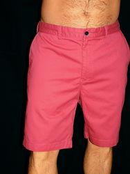 Шикарные бермуды - цвета светлый кармин - XXL - XL