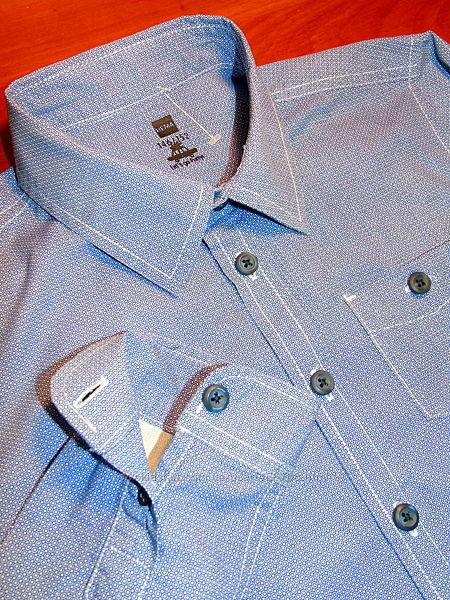 Шикарная рубашка на мальчика в принт 3 D эффектом - 146 - 152
