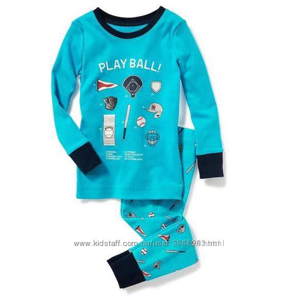 Хлопковая пижама на мальчика, бренд, Америка 5т
