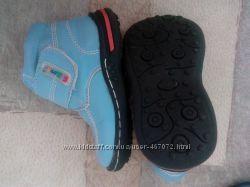 Голубі дитячі черевички для хлопчиків демисезонні 22 р. 04f5ba29ace4a