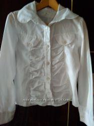 7c52dab8b29 блузка в школу белоснежная