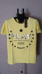 Pakkoo фирменная турецкая футболка с бусинами play