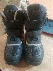 Зимние термо сапоги ботинки B&6