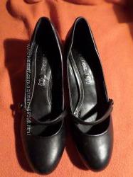 Туфли кожаные  Next Р. 40-41 ст. 26, 5см