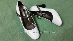 Туфли голубые Dorothy Perkins Р. 40 -41 ст. 26, 5см