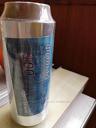 Фольга серебрянная аллюминиевая для парикмахеров. 100м. 14мкн