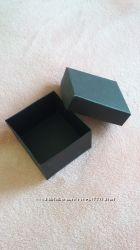 Коробочка черная картон