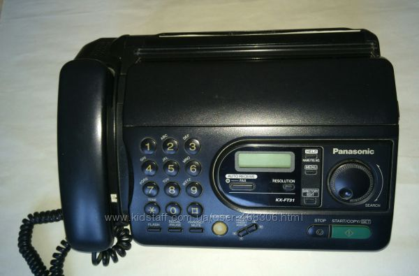 Факс Panasonic модель КХ-FТ31