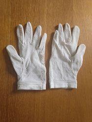 Перчатки женские тканевые б. у