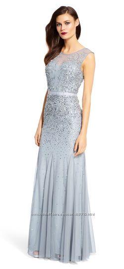 Нарядное платье Adrianna Papell p. 16 лет