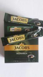 Растворимый кофе Jacobs Monarch  в удобной компактной упаковке