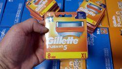 Лезвия Gillette Fusion 8 шт. Только Высокое качество , Колумбия