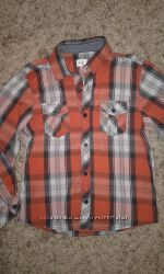 рубашка для мальчика р 7-8 лет