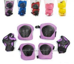 Защита для роликов наколенники налокотники, перчатки. 5-10лет