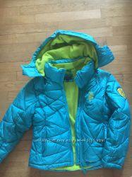 курточка  для девочки 7-8 лет US Polo Assn  в отличном состоянии