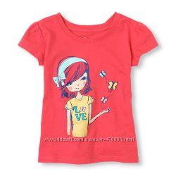 хлопоковые футболки 5, 6 лет , америка, большемерят
