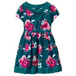 Очень нарядное платье Gymboree, размер 4Т.