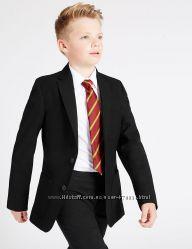 Брюки, пиджак, рубашка Marks&Spencer, бу, на 8-9лет.