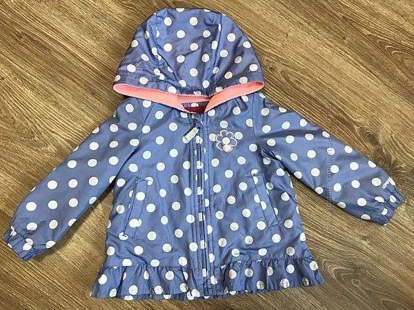 Суперова куртка вітровка на флісовій підкладці 1,5-2 роки