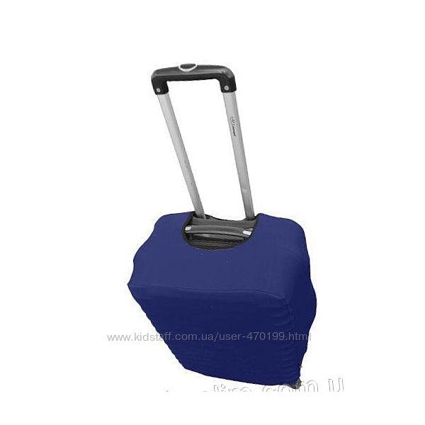 Чехол на чемодан из дайвинга размер S синий