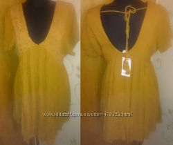 стильна коричнева сукнятуніка нова бірки Mango S