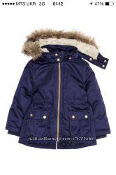 Куртка парка h&m 104 р