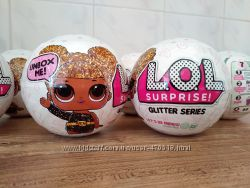 Оригинал L. O. L. Surprise Glitter Series. ЛОЛ Блестящая серия LOL