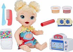 Кукла Hasbro Baby Alive Малышка и еда E1947 Оригинал