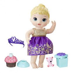 Кукла Baby Alive Cupcake Birthday Hasbro. Именинница День Рождения