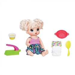 Интерактивная кукла Baby Alive Малышка и лапша Super Snacks Snackin Noodle