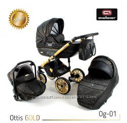 Коляска 3 в 1 Adbor Ottis Gold