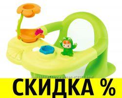 Стульчик для ванны купания Smoby Cotoons Жабка  110606 110615