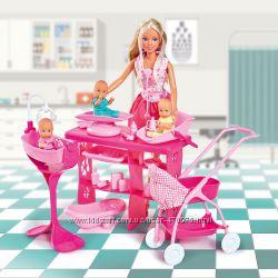 Кукла Штеффи Замечательная опека с тремя малышами Simba 5733212