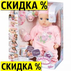 Интерактивная кукла Беби Аннабель Zapf Creation 794401