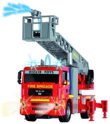 Пожарная машинка Dickie Город со световыми и звуковыми эф 31 см
