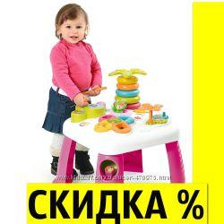 Развивающий игровой столик Цветочек Cotoons Smoby Франция 211170