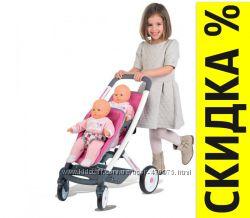 Коляска для куклы двойни для близнецов Maxi Cosi Quinny 253297 Smoby