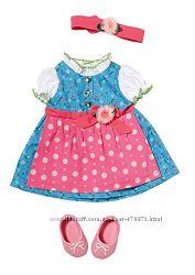 Платье, обувь и повязка для куклы Baby Born 822005 Zapf 822852