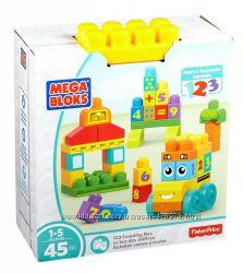 Конструктор Мега Блокс Mega Bloks First Builders Автобус 123 FBM80