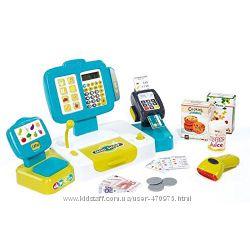 Интерактивная касса с калькулятором, сканером и выдачей чека Smoby 350105