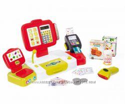 Интерактивная детская касса со сканером и выдачей чека Smoby 350107