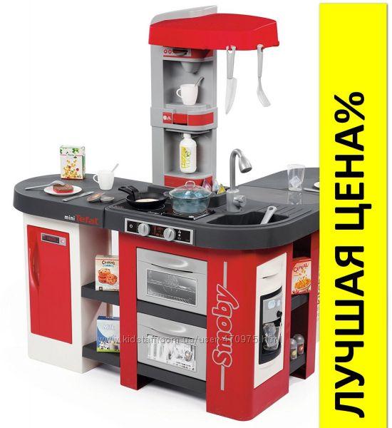 Интерактивная кухня Smoby Tefal Studio Большая с эффектом кипения 311025