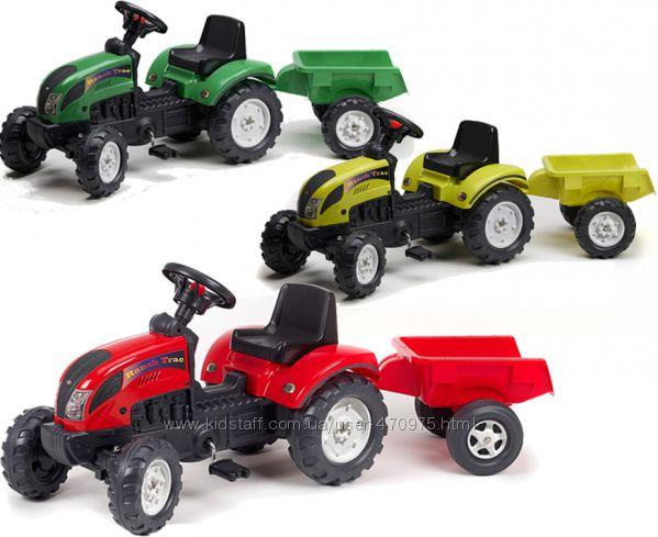 Трактор детский Педальный с Прицепом Ranch Trac Falk 2053AC