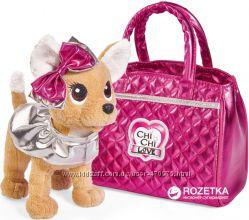 Собачка Chi Chi Love Фешн Модный гламур с сумочкой Simba 5893125