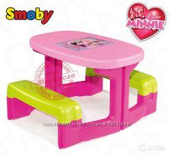 Столик парта с лавочками  Minnie Smoby 310291