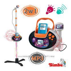 Музыкальный инструмент Микрофон со Штативом 113 см Simba 6838615