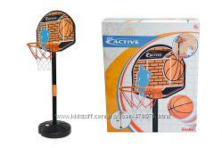 Игровой набор Баскетбольная корзина на стойке Simba 7407609